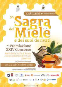 Sagra del miele di Châtillon 26-28 ottobre 2018